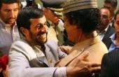احمدی نژاد و قذافی