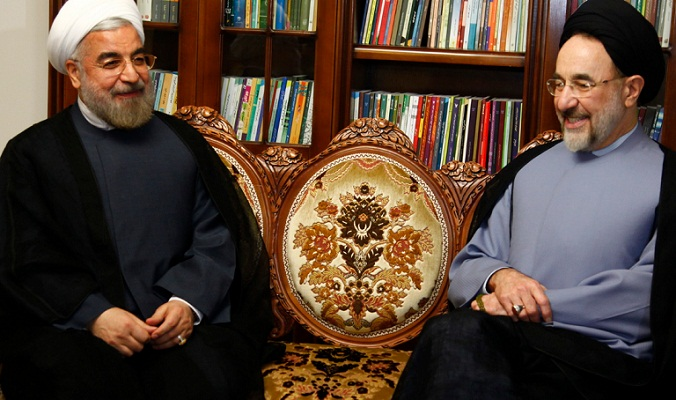 """Image result for سیدمحمد خاتمی و حسن روحانی"""""""