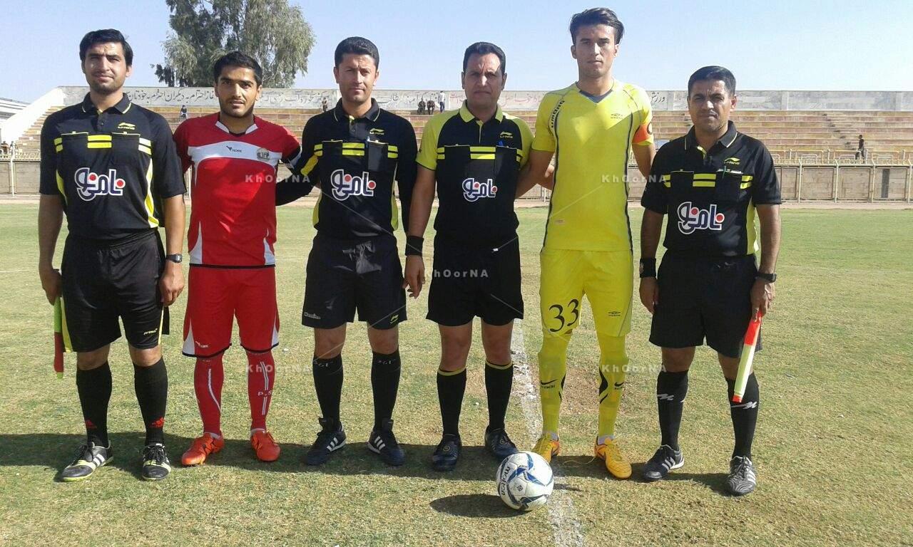 نتایج هفته ششم مسابقات فوتبال لیگ برتر بزرگسالان خوزستان در فصل 95/96