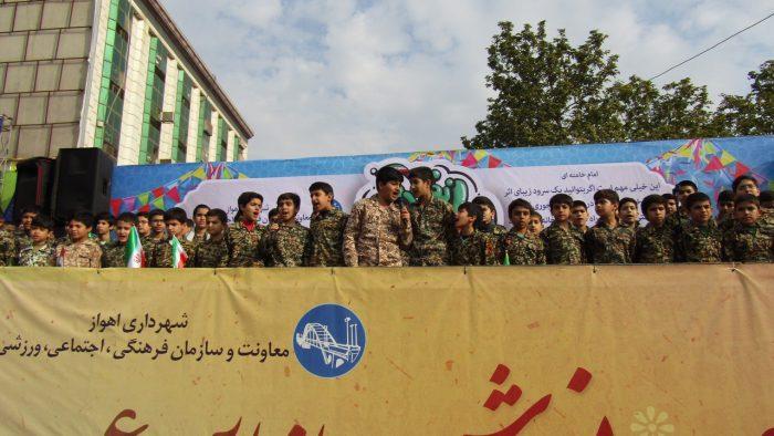 گزارش تصویری جشن باشکوه چهلمین سالگرد انقلاب اسلامی در اهواز