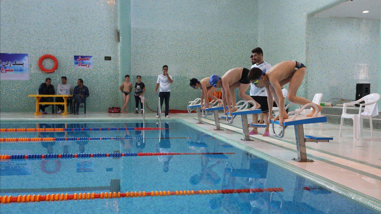 مسابقات شنا رده های سنی  شهرستان بندر ماهشهر برگزار شد